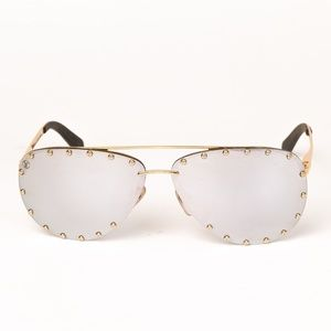 LOUIS VUITTON THE PARTY AVIATOR SUNGLASSES Z0911U
